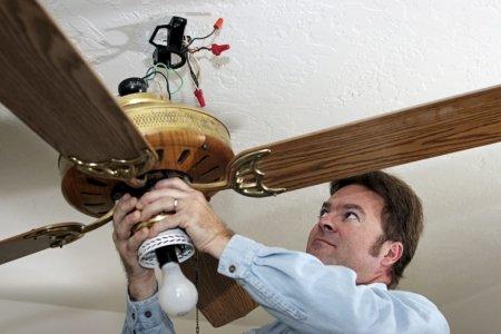 How To Fix A Wobbling Ceiling Fan